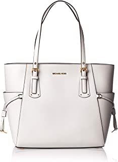 MICHAEL Michael Kors Voyager East/West Tote Optic White One Size