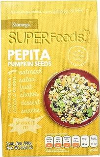 Xiomega-Superfoods Pepita Semillas de calabaza, 250 g