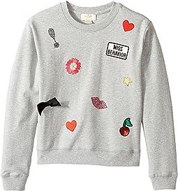 Kate Spade New York Kids - Patched Sweatshirt (Little Kids/Big Kids)