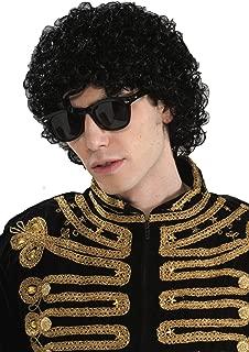 Forum Novelties Michael Jackson Popstar Afro Wig - One Size