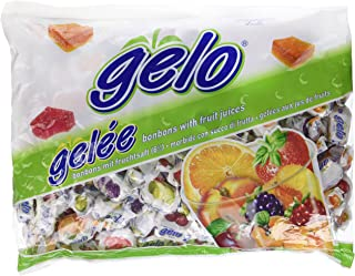 Gelo Assorted Kosher Bonbons with Fruit Juices (Large)