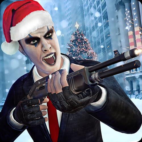 Assassino do Gângster do Natal Assalto ao Ladrão de Bancos do Grand Theft 3D: Crimes da Cidade do Crime Vs da Polícia Ladrões da Máfia Gângsteres da Aventura Ação Simulador de Jogo Grátis para Crianças 2018