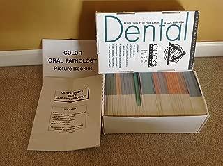 NBDE Dental Decks 2001 Part 1 & Part 2 (Dental Decks Part 1 & Part 2 with Color Oral Pathology Picture Booklet)