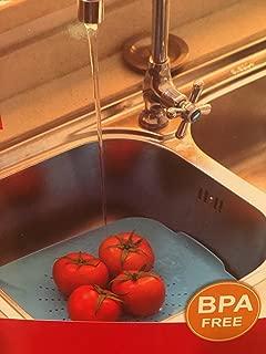 Flat Sink Colander Food Strainer