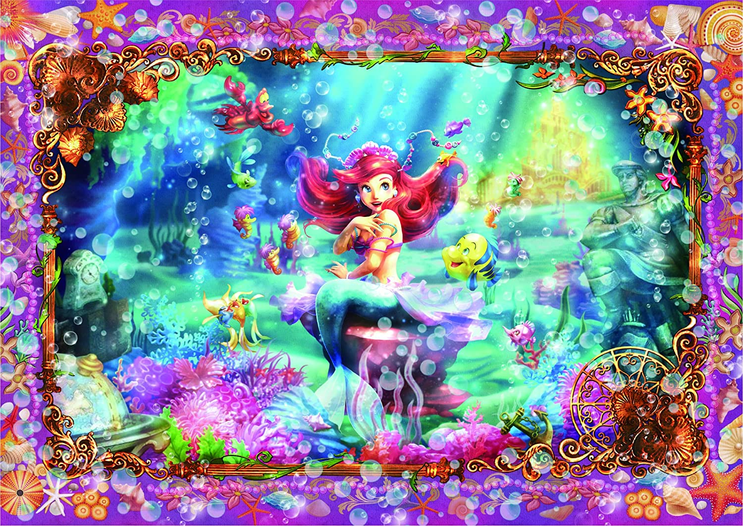266 piece jigsaw puzzle Pure White Little Mermaid Beautiful Mermaid DPG266565 tightly