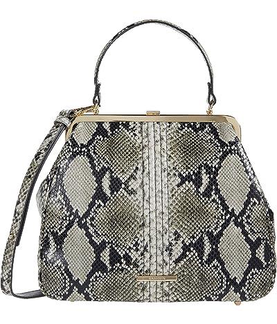 Brahmin Felix Emmy Satchel (Stone) Handbags