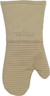 Todos los Textiles con Revestimiento Pesado 100% Sarga de algodón y Silicona Guante de Cocina