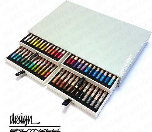 Bruynzeel design Künstler Box von 48 stellstifte
