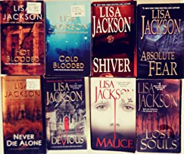 Lisa Jackson's Complete 8-Book 'NEW ORLEANS' Series -- Hot Blooded / Cold Blooded / Shiver / Absolute Fear / Lost Souls / ...