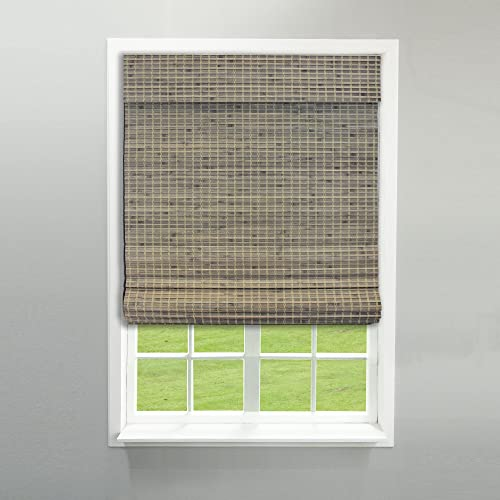 """discount Radiance sale 2208862E high quality Cordless Roman Shade, 36"""" x 64"""", Driftwood sale"""