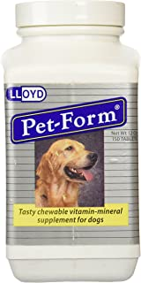 Vet-a-Mix Pet-Form Tablets for Dogs 150 tablets