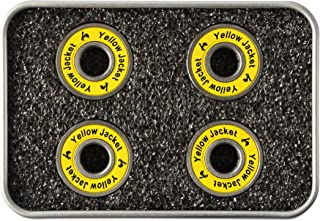 Yellow Jacket Premium Scooter Bearings, Kick Scooter, 608, ABEC (Pack of 4)