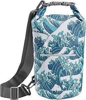 Skog Å Kust DrySåk Waterproof Floating Dry Bag with Exterior Zippered Pocket | for Kayaking, Rafting, Boating, Swimming, C...
