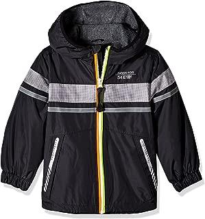 London Fog Boys' Chest Strip Poly Lined Jacket