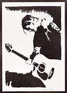 Poster Kurt Cobain Nirvana Handmade Graffiti Street Art - Artwork