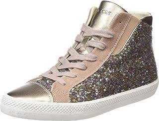 Geox D Giyo A, Sneaker a Collo Alto Donna