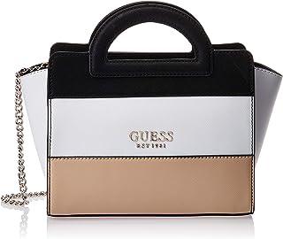 Guess Womens Tote Bag, Tan Multi - VT767212