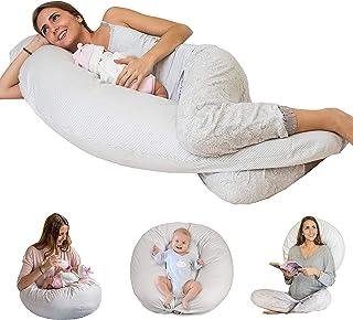 Bamibi® Almohada Embarazada y Cojín Interno Multifuncional