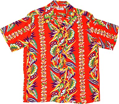 SUN SURF - Camisa casual - para hombre rojo rosso XX-Large ...