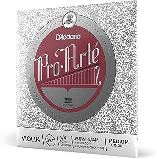 D'Addario Pro-Arte Wound E 4/4 Scale Medium Tension Violin String Set
