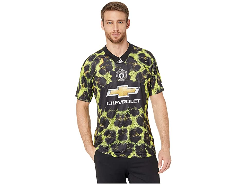 Image of adidas Special Collections Manchester United EA Jersey (Multicolor/Animal) Men's Clothing