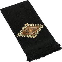 Avanti Linens Mojave Fingertip Towel, Black