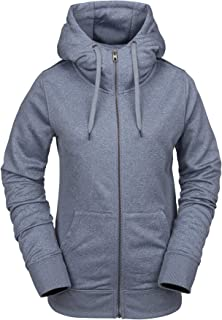 Volcom Women's Cascara Baselayer Hydrophobic Fleece Hooded Sweatshirt