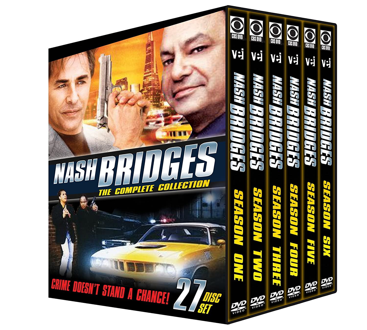 excellence Nash Bridges Complete Collection 27Dvd Ranking TOP16