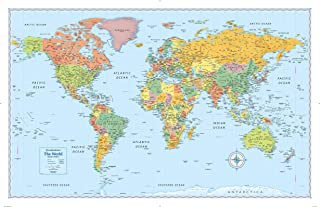 Best map of the world poster uk Reviews