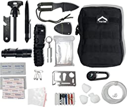 True Oak - Complete Outdoor Survival Kit - High Performance kit for The Hardcore Prepper, Camper, or Outdoorsman, Excellent for Camping, bushcraft, Hunting, Survival, and Outdoor Sports