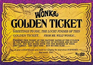 Best willy wonka golden ticket replica Reviews