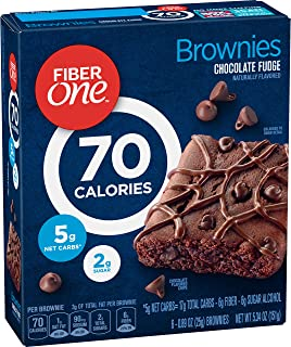 Fiber One Brownie Chocolate Fudge, 0.89oz 6 Count, 5.32oz
