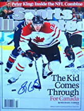 Sidney Crosby PITTSBURGH PENGUINS autographed Sports Illustrated magazine 3/8/10