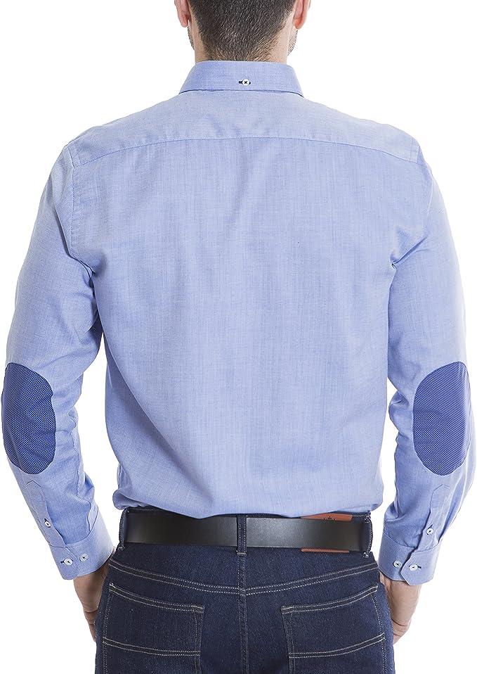 EL CABALLO Camisa Azul Cielo 2XL: Amazon.es: Ropa