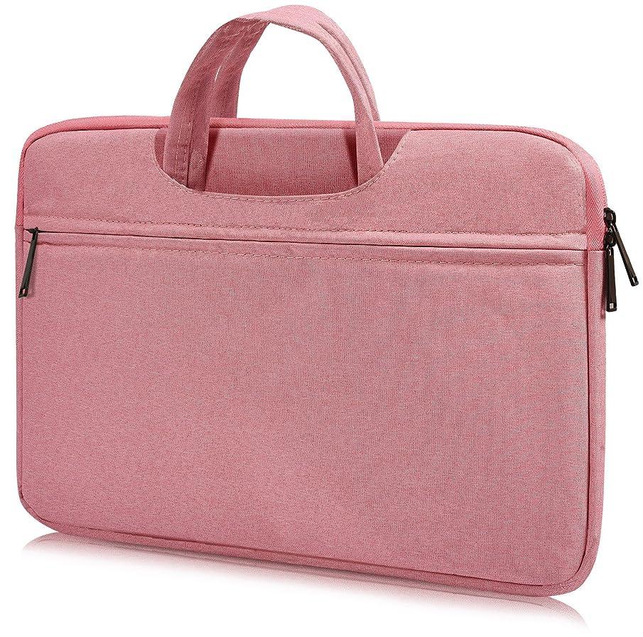 15.6 Inch Laptop Sleeve Case for Acer 15.6 Inch Flagship, Acer Chromebook 15, Lenovo Yoga 720/730 15.6, Lenovo IdeaPad, HP Pavilion, ASUS VivoBook, MSI GL62M, Water Resistant Notebook Case, Pink