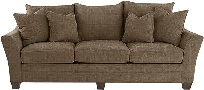 Amazon Com Benchcraft Melilla Casual Upholstered Sofa