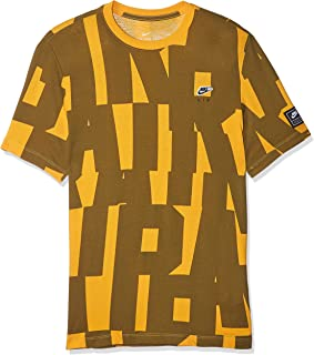Nike Men's NSW Tee CLTR Air 5, Gold(University Gold739), Small