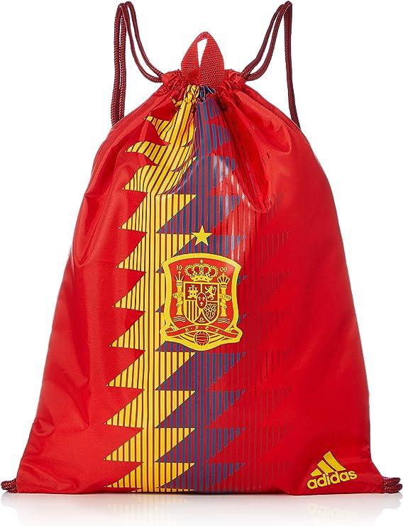adidas FEF GYMBAG Mochila, Unisex Adultos, Rojo (Rojo/Dorfue), 24x15x45 cm (W x H x L): Amazon.es: Deportes y aire libre
