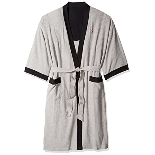 Jockey Men s Waffle-Weave Kimono Robe 88ebee39a