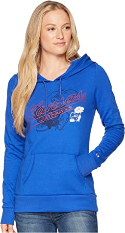 Kansas Jayhawks Eco University Fleece Hoodie