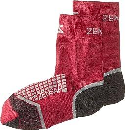 Zensah - Grit Running Socks Crew