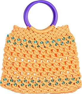 Raka Craft Women's Clutch (Orange, Raka 20)