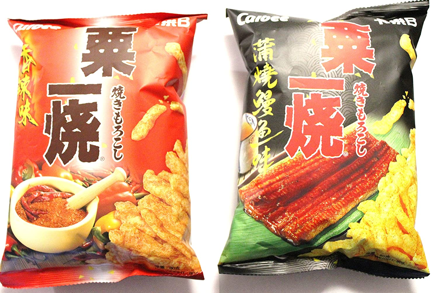 Dallas Mall store Calbee Hot Spicy and Eel Chips Va Kabayaki Flavored Grill-a-Corn