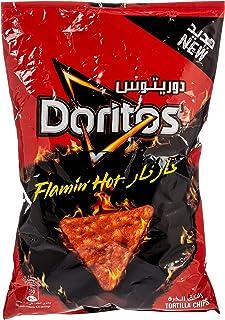 Doritos Flaming Hot Tortilla Chips, 175g