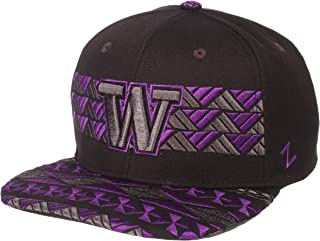 Black//Team Color Zephyr Adult Men Kolohe NCAA Snapback Hat Adjustable