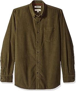 Amazon Brand - Goodthreads Men's Slim-Fit Long-Sleeve Corduroy Shirt