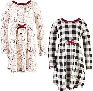 لباس های نخی ارگانیک دختران طبیعت (کودک ، کودک ، جوانان) لمس شده است