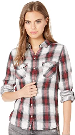 Dark Cherry Plaid