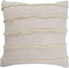 """LR Home Birch Overtufted Solid Throw Pillow, 20"""" x 20"""""""