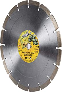 Cost Cutter Pro Wet/Dry Segmented Diamond Blade for Masonry, Stone, Concrete, Roof Tile and Similar Materials (10